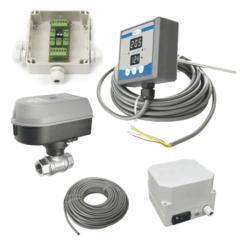 TTMMCS1-2AS Ruční měřicí a řídicí systém pro teplotu v nádrži pro 2 ks jednorázových chladicích zón