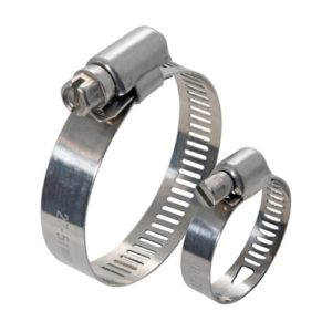 CWC-HC1627-SS Hose clamp 16-27mm for hose 1/2″ Stainless steel