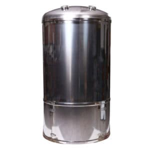 "DBTVI-500S Serving tank 500L ""bag-in-box"", vertical, insulated, stainless-steel"