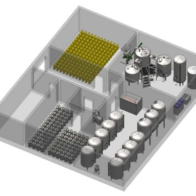 Complete breweries - beer production lines