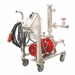 MFE-150C Flotatie-uitrusting 15000 l / uur met centrifugaalpomp