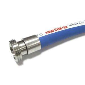 CWC-PFH2535-10FSSD Plastikinė maisto žarna Foodstar SD vandeniui, alui, pienui, vynui 25-35mm 10bar