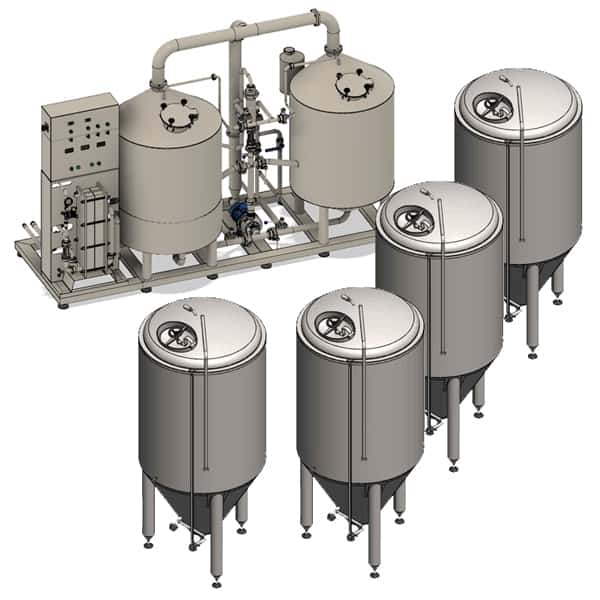 BREWORX LITE-ECO brewery - example configuration