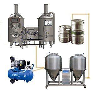 FUIC-CHP1C-2x500CCT Kompaktní fermentační jednotka 2 × 500 / 600 litrů