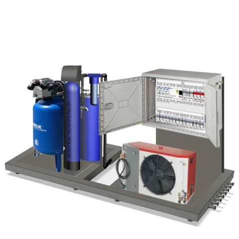 Energetická jednotka MODULO pro modulární pivovary Breworx Modulo