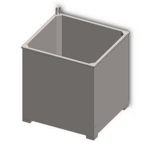 ofv without cover 001 300x300 - Pricelist : Open fermentation vats and cylindrical fermentation tanks - Open beer fermentors
