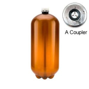 80xPETA-20CLAX 80pcs Petainer Keg 20 liters classic A-coupler without box