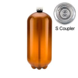 80xPETA-20CLSX 80pcs Petainer Keg 20 liters classic S-coupler without box
