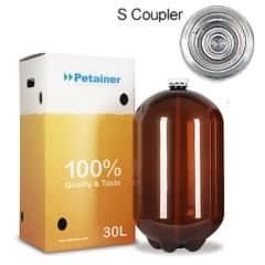 48xPETA-30CLSB 48pcs Petainer Keg 30 λίτρα κλασικό ζεύκτη S με λευκό κουτί