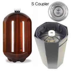 48xPETA-30USDS 48pcs Petainer Keg USD 30 λίτρα S-ζεύκτης