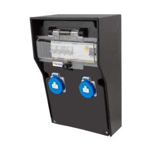 RB-1189 Elektrická skříň od 230V16A do 2x230V IP54