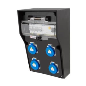 RB-3656 Electric cabinet from 400V32A to 4x230V IP65