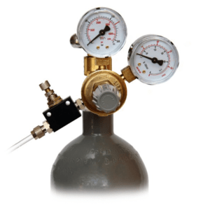 RVA-CO2 Reducing valve for pressure bottles with CO2 gas
