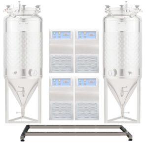 Hlavní rám pro FUIC 2xCCT s chladiči 4 / až do 2000L