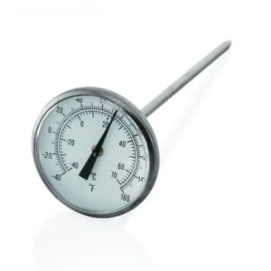 TEA-TMA-125 termometer analog 10 / 125mm