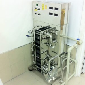 WCASB-2000 Compact cooler and aerator of wort 2000 liters per hour
