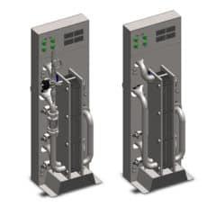 WCASB-3002 Zweestock Block blockéiert de Cooler-Aerator 2 × 3000 Liter pro Stonn